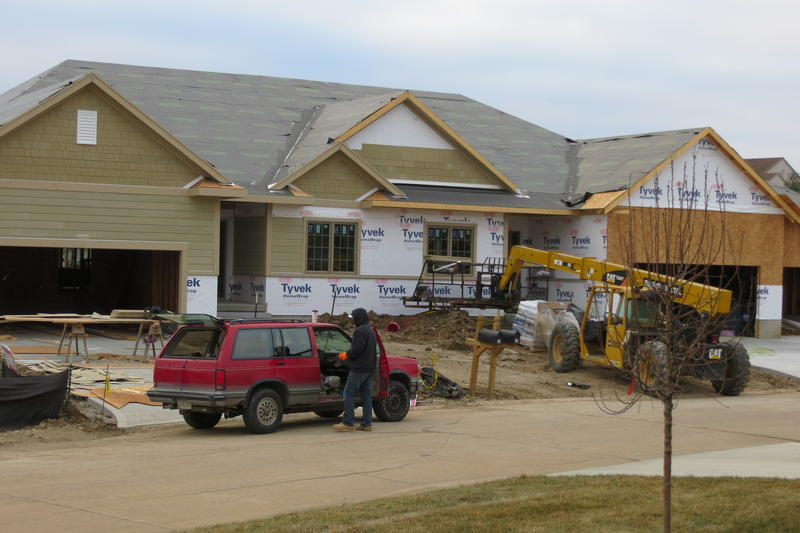 Townhouse project near Legacy Golf Club