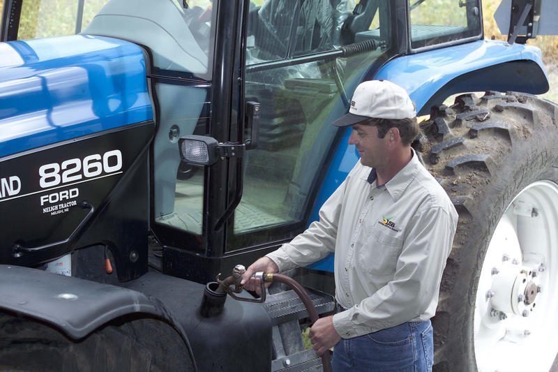 Biodiesel is produced from animal fats and vegetable oils, like soybean oil.