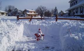 Residents can help keep hydrants free of snow by shoveling about three feet in each direction