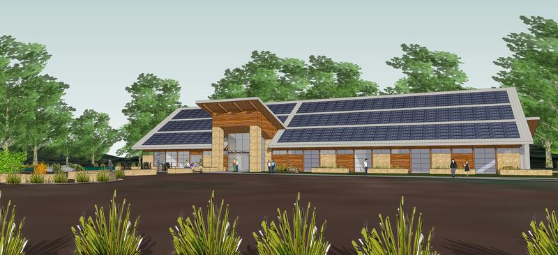 A cutting edge solar system is proposed for a building at the Indian Creek Nature Center in Cedar Rapids