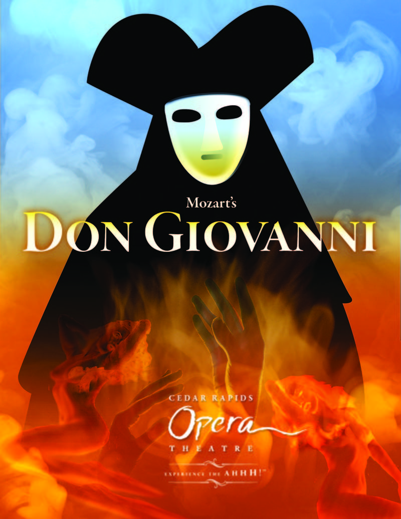 "The Cedar Rapids Opera Theatre's production of Mozart's ""Don Giovanni"""