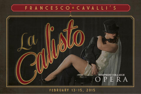 "Simpson College Opera's production of Cavalli's ""La Calisto"""