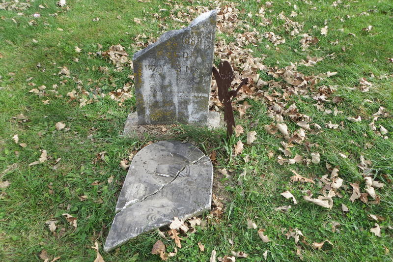 Over the years, markers have been vandalized and graves desecrated