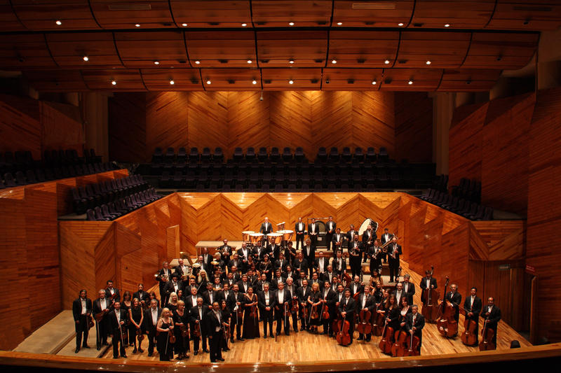 The State Symphony of Mexico, performing at the Iowa State Center on March 3.