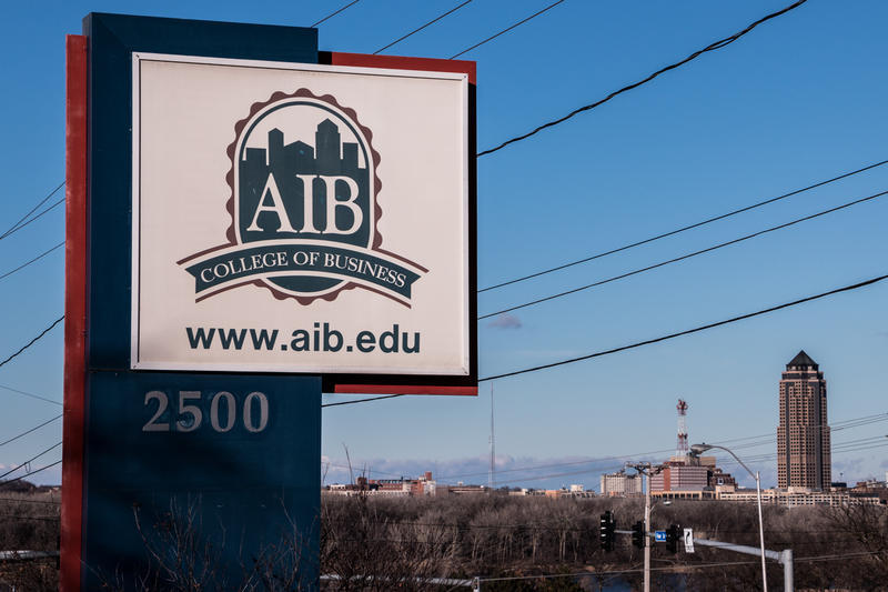 AIB College of Business is gifting its 20-acre campus to University of Iowa. The last AIB class will graduate in June 2016.  UI will begin operations July 1, 2016.