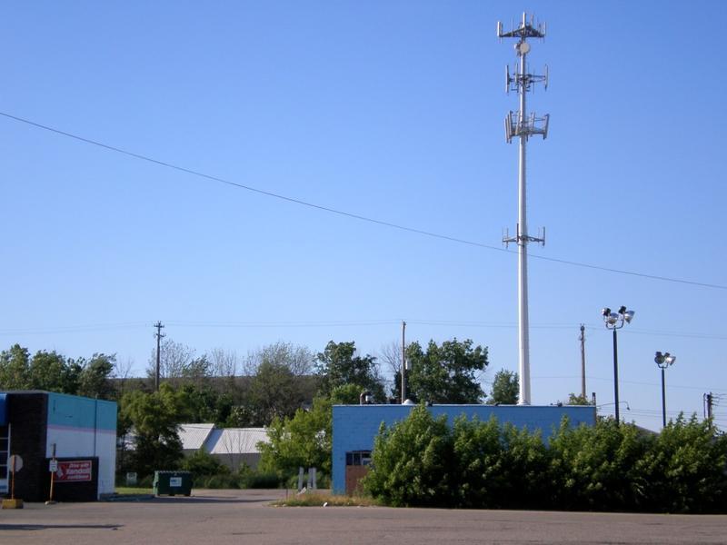 Cellphone Towers in Lansing, Michigan