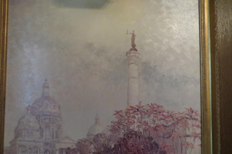 Early Grant Wood: The Capitol Dome and Soldiers Monument