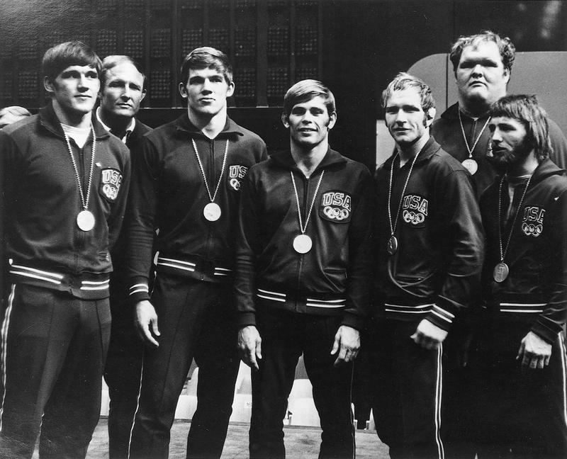 The 1972 U.S. Olympic wrestling team