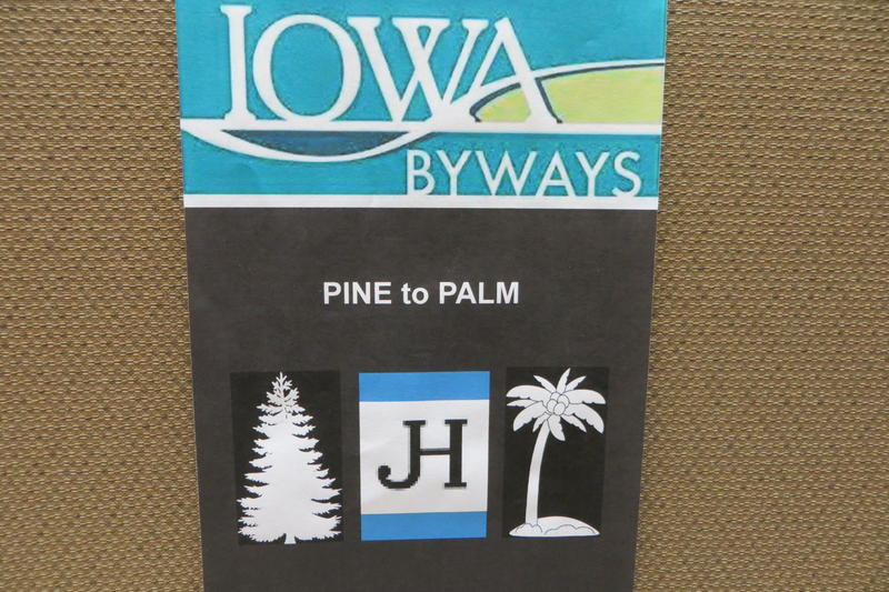 This is a prototype byway sign to mark the Jefferson Highway
