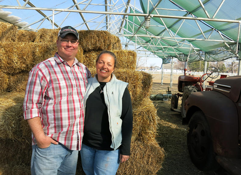Farmers Jason and Natalie Condon grow certified organic vegetables in Lafayette, Colo. They oppose the formation of an organic checkoff.