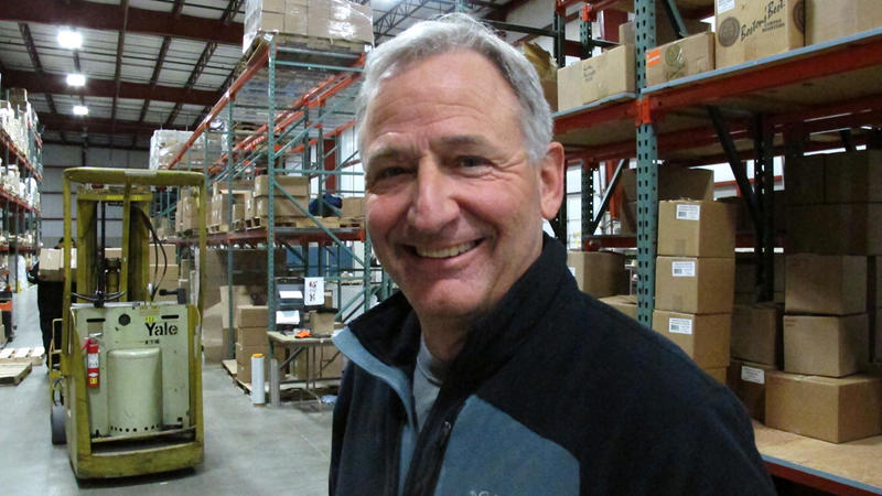 Mark Zink is the business manager of Heartland Gourmet, a food company in Lincoln, Neb. His facility is certified by the Global Food Safety Initiative which he says goes above and beyond USDA and FDA regulations.