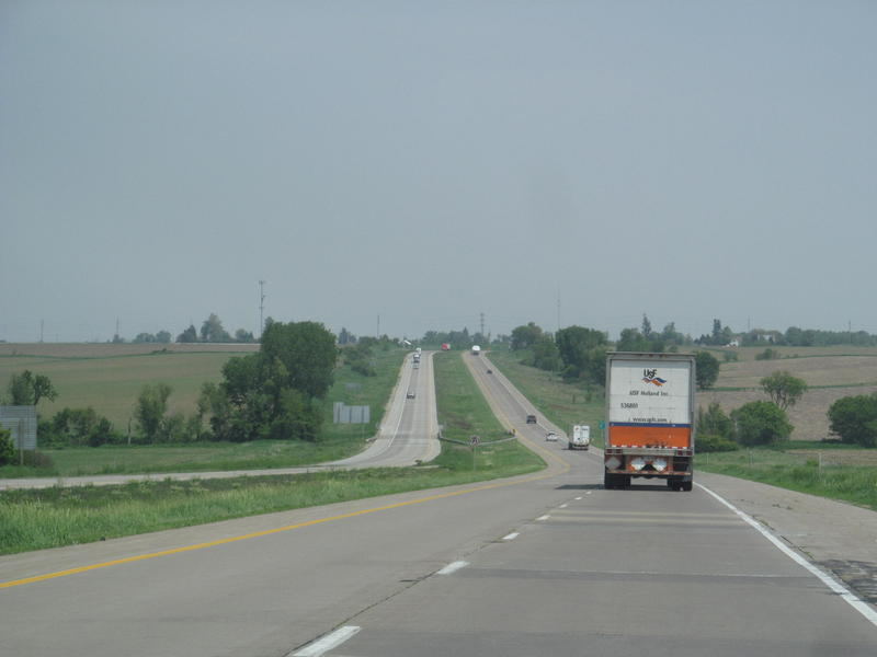 Interstate 280 in Iowa.