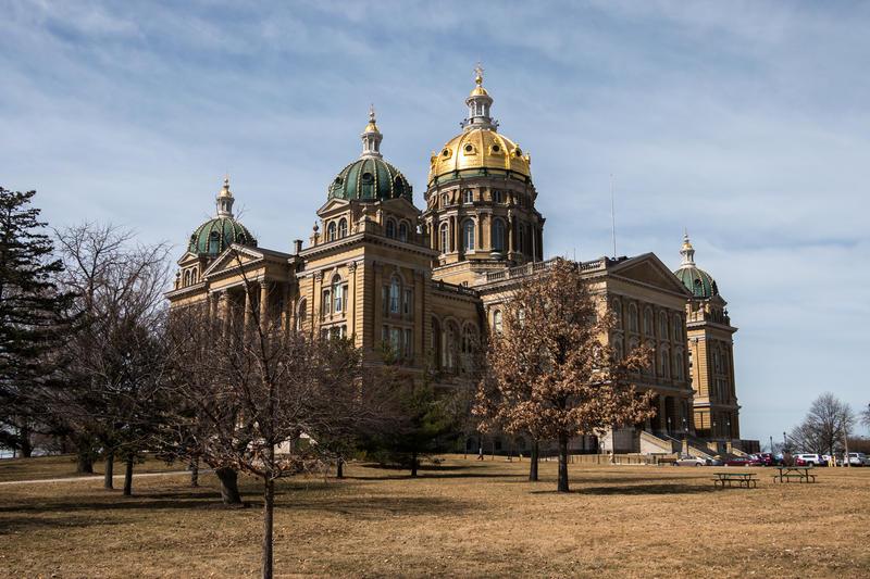 The Iowa Statehouse