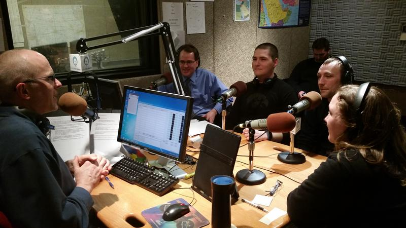 Host Ben Kieffer talks with neuropsychologist Michael Hall, and veterans, Nate Warner, Josh Mulder, and Stephanie Lynn Waddell