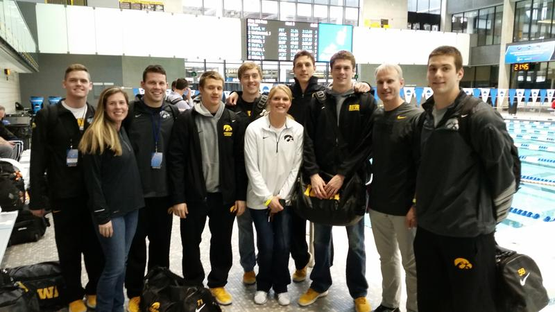 The NCAA qualifying team from the University of Iowa.