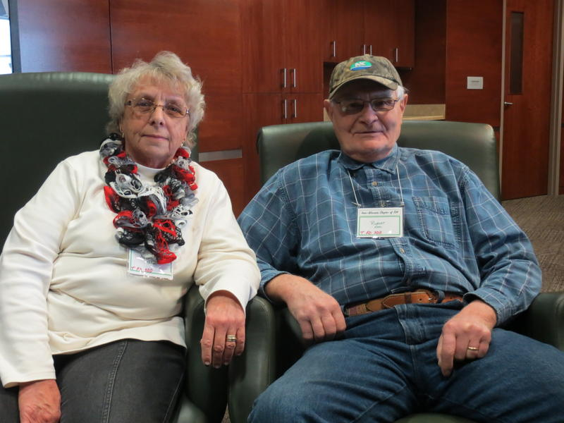 Charlotte and Rubert Kerl of Mazomanie, Wisconsin have been married 15 years