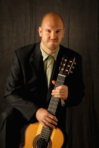 Guitarist Robert Gruca presents a concert for the Heart of Iowa Classical Guitar Society.
