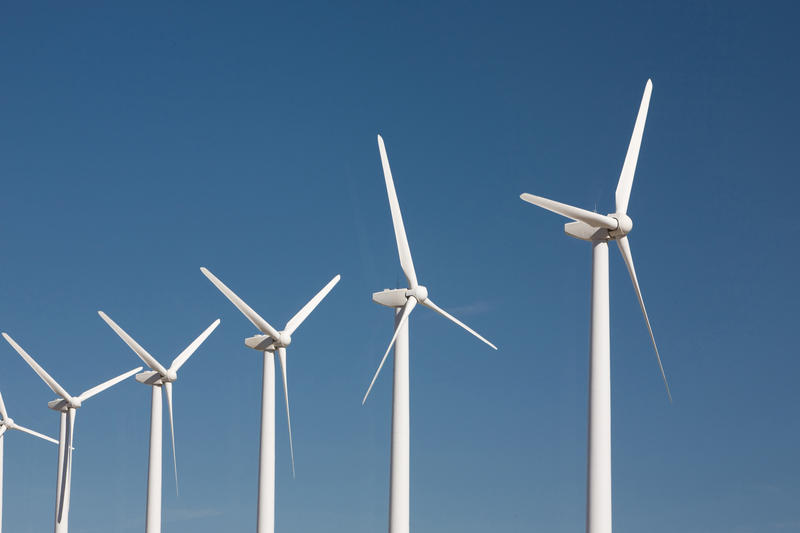 Iowa and Texas, where Hayhoe calls home, lead the nation in wind energy.