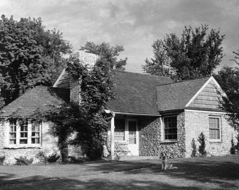 One of the Moffitt houses that Dr. Richard DeGowin grew up in.