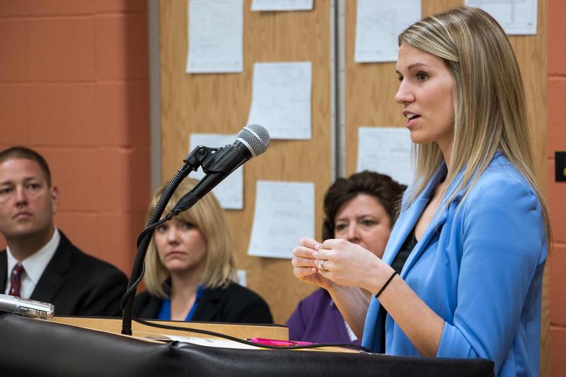 Southeast Polk 2nd grade teacher Madison Fontana