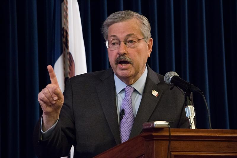 Iowa Governor Terry Branstad