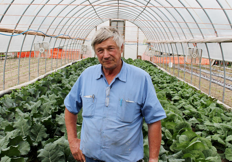 Andy Daniels runs Daniels Produce near Columbus, Neb. with his daughter, Kelly, and son, Jason.