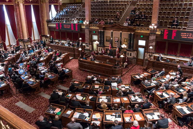 The majority leader of the Iowa Senate objects to provisions in a deal to keep two mental health institutes open through mid-December.