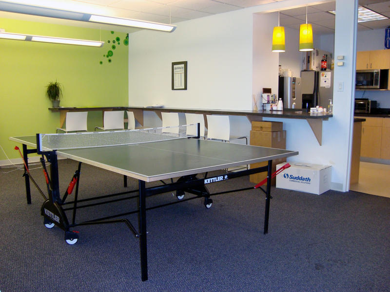 Nancy Lyons calls ping pong tables 'gimmicks' that distract from the real work of workplace culture.