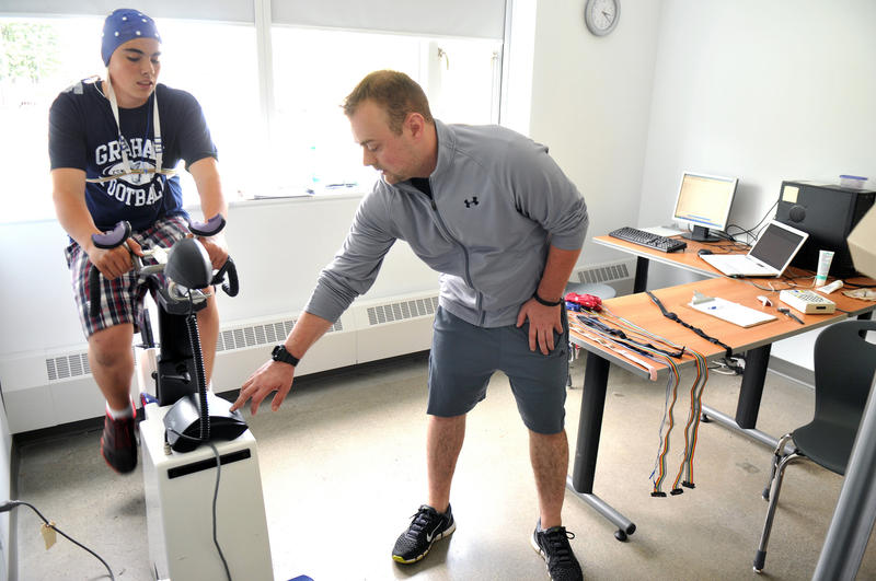 A study on concussions conducted at the University of the Fraser Valley