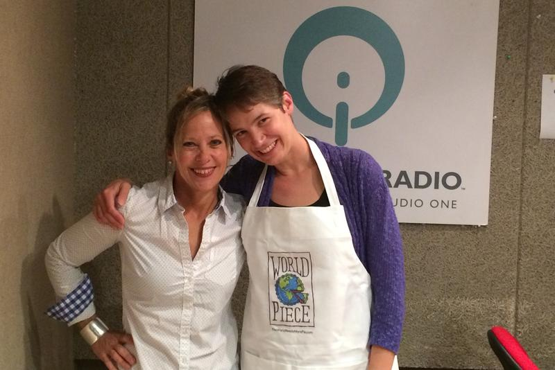 Beth Howard in IPR's Iowa City studio with host Charity Nebbe.