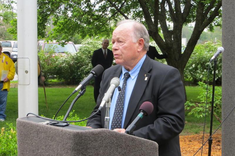 Former POW Harold Johnson was keynote speaker