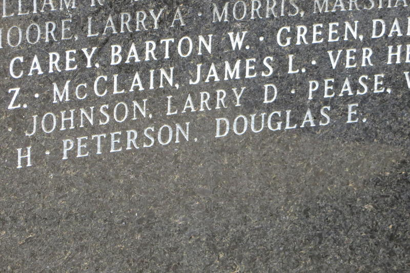 The 867th name on the memorial