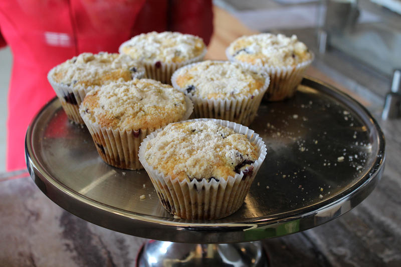 Come winter, it'll be much harder for Heirloom Bakery to find local blueberries. They'll have to use large distributors, or be stuck serving carrot cake.