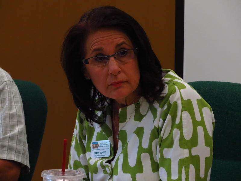 Environmental Protection Commission Chairwoman Mary Boote