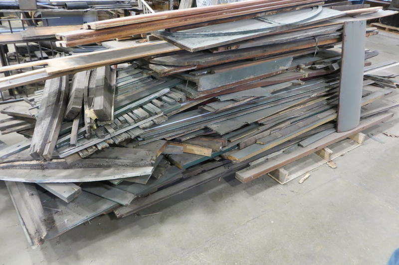 The Black Hills rebuild was reduced to a pile of boards