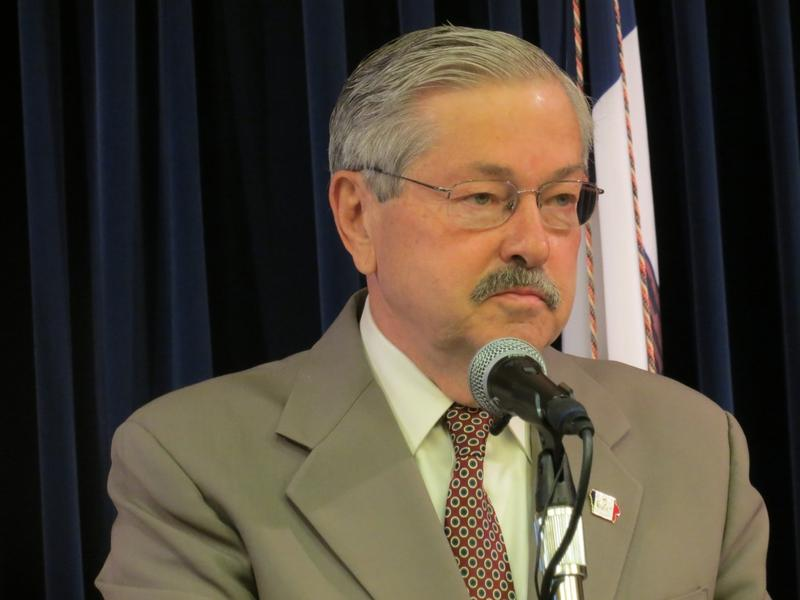 Governor Terry Branstad at Weekly News Conference,  June 29 2015.