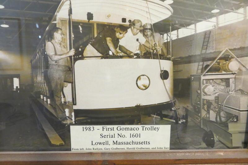 Gomaco's original trolley project, 1983