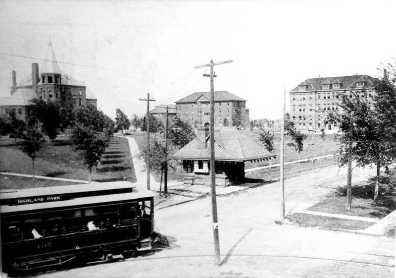 Des Moines' Highland Park, date unknown