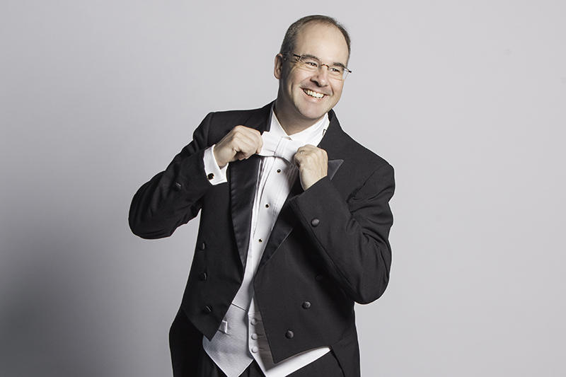 Orchestra Iowa's Music Director and Conductor, Tim Hankewich, celebrates his 10th season with the ensemble this year.
