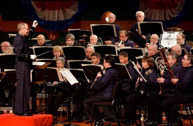 Keith Brion leads his own New Sousa Band in concert.