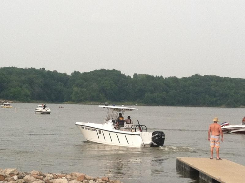 Erika Billberbeck departs to patrol Coralville Lake. She pays particular attention to drunken boating.