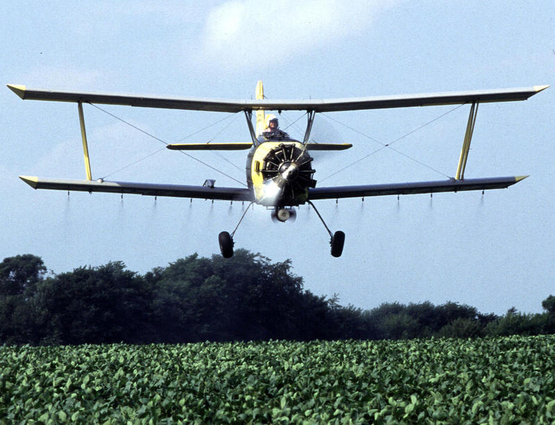 Under the proposal, crop dusters will have to meet stricter standards when applying certain pesticides.