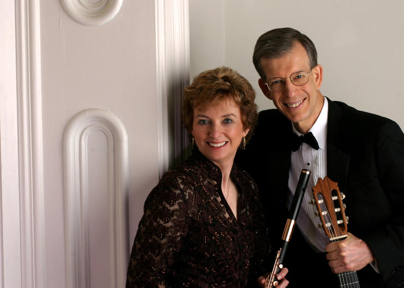 Jan Boland and John Dowdall, founders of Red Cedar Chamber Music.