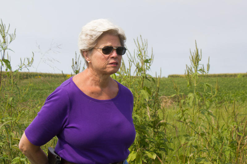 Central Iowa farmer Carol Miller says she is still weighing all of the conservation options.