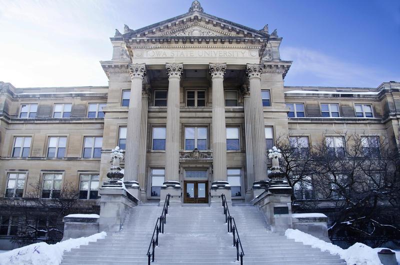 Iowa State University's Beardshear Hall.