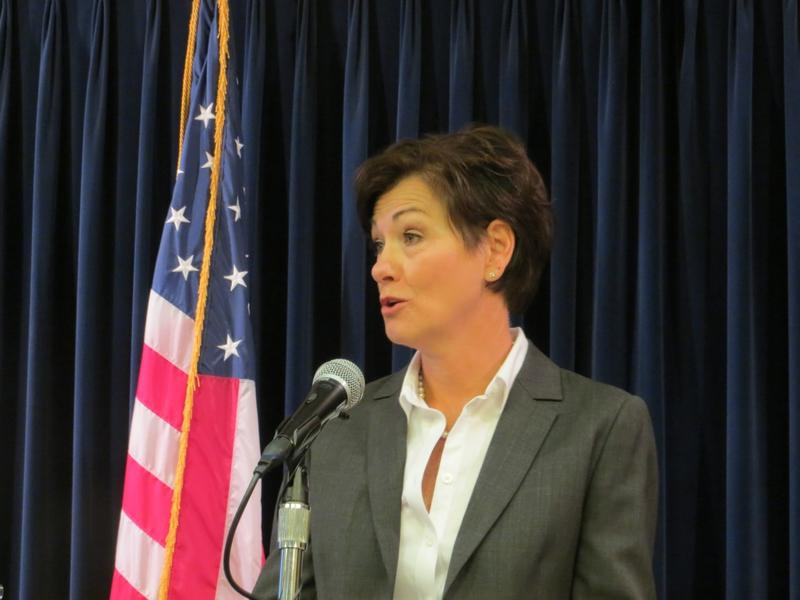Iowa Republican Lieutenant Governor Kim Reynolds