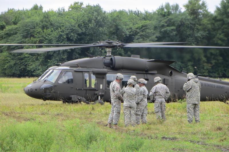 Black Hawk training at Camp Dodge with North Dakota National Guard.