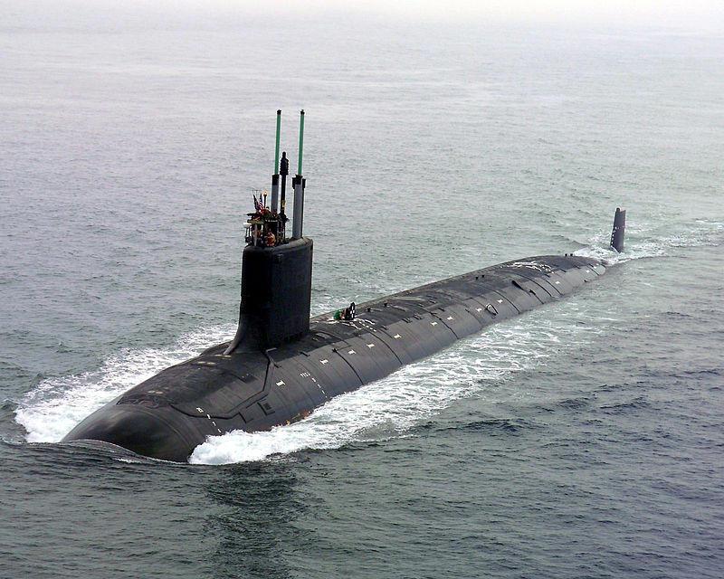 A Virginia-class submarine.