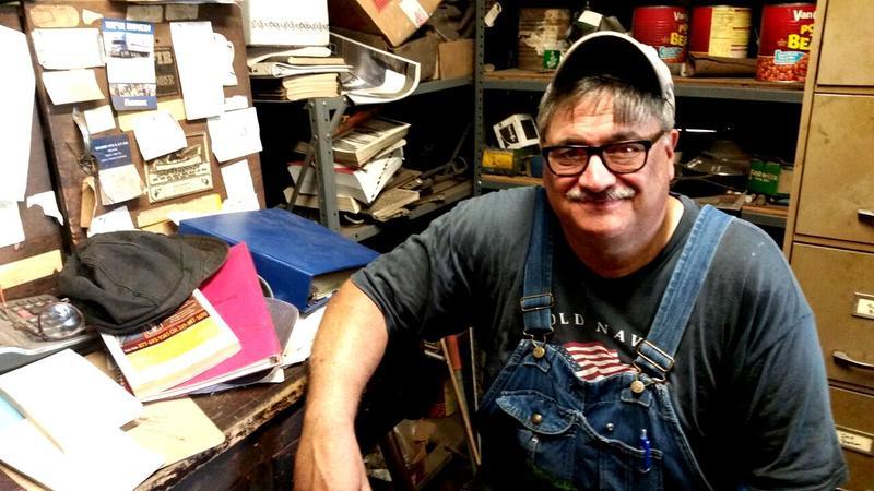 Bob Yoder, of Kalona Blacksmith & Welding