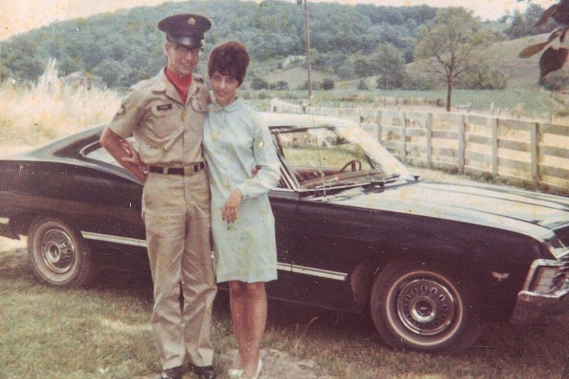 Paul and Carol prior to his departure for South Vietnam.